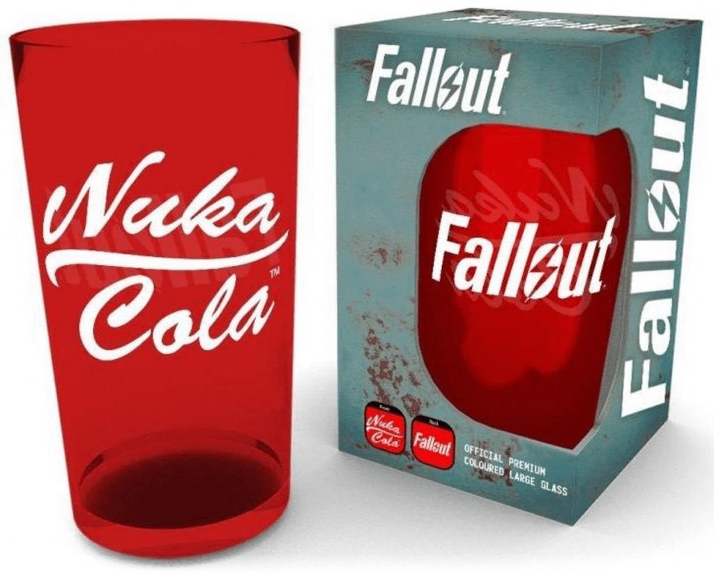 FALLOUT - Premium Coloured Large Glasses 500ml - Nuka Cola