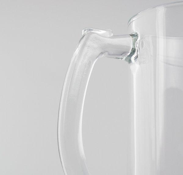 THE WALKING DEAD - Beer Glass 500ml Metal Badge - Walker Hunter_3
