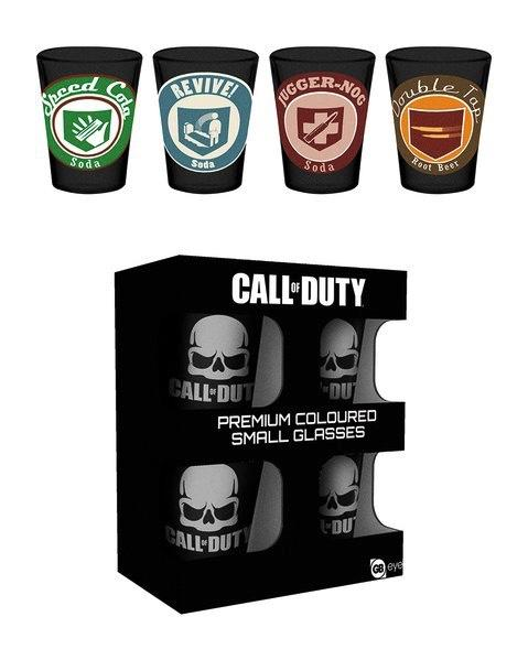 CALL OF DUTY - Premium Coloured Shot Glass - Perks