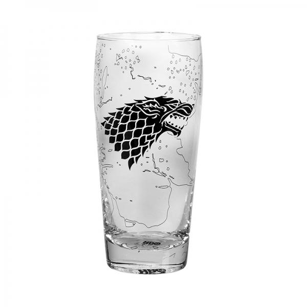 GAME OF THRONES - Pilsner Glass - King in the North_3