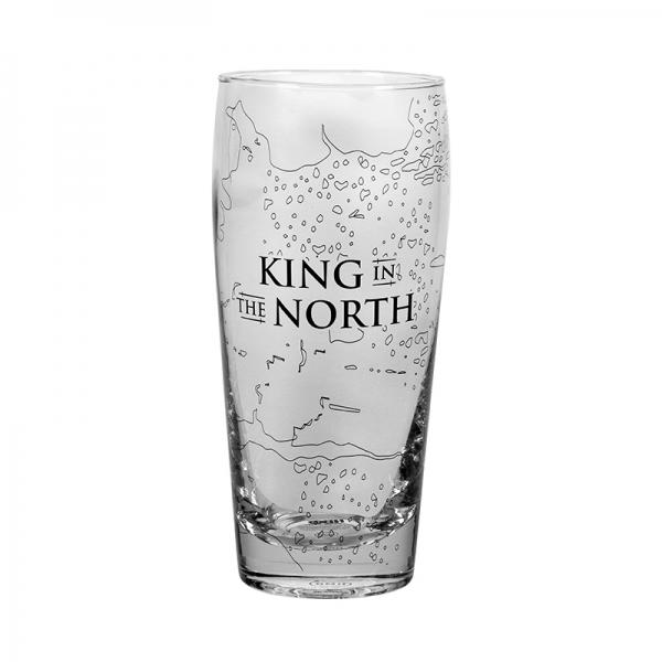 GAME OF THRONES - Pilsner Glass - King in the North_4