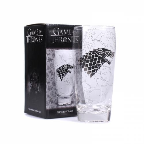 GAME OF THRONES - King in the North - Verre à bière