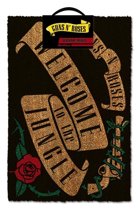 GUNS N' ROSES - Paillasson 40X60 - Welcome To The Jungle
