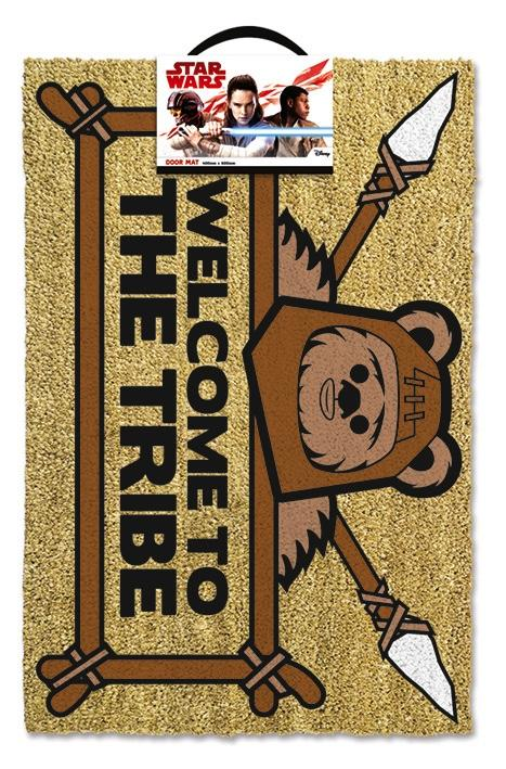 STAR WARS - Paillasson 40X60 - Welcome to the Tribe Ewok