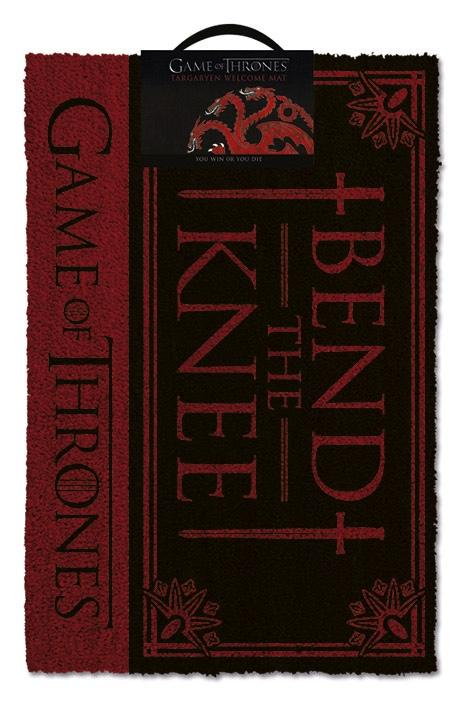 GAME OF THRONES - Paillasson 40X60 - Bend The Knee
