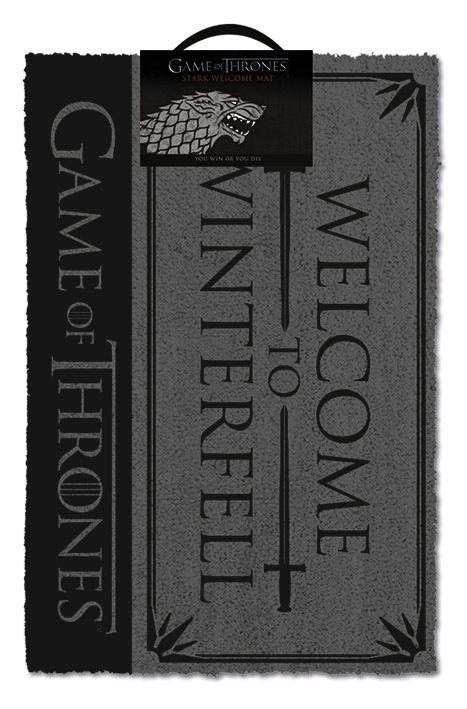 GAME OF THRONES - Paillasson 40X60 - Welcome to Winterfell