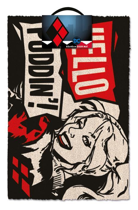 DEADPOOL - Paillasson 40X60 - Harley Quinn : Hello Puddin'