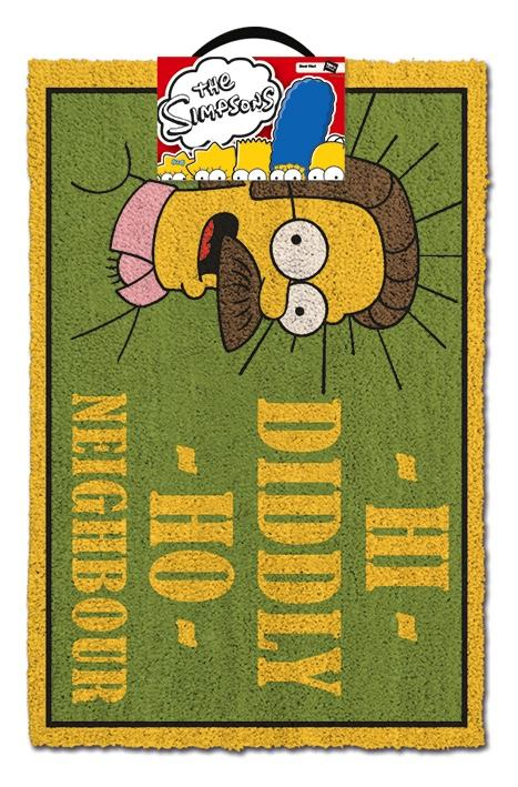 SIMPSONS - Paillasson 40X60 - Hi Diddly Ho Neighbour