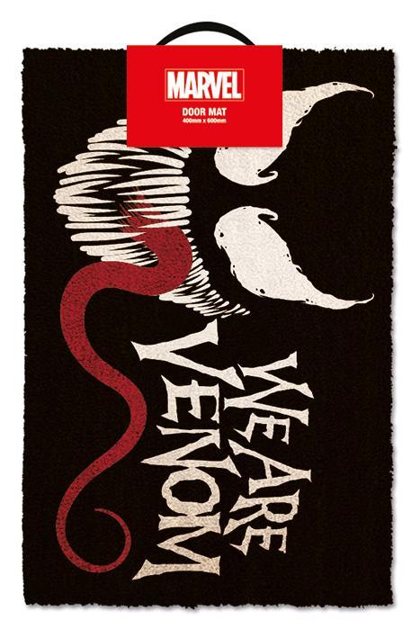 MARVEL - Paillasson 40X60 - We are Venom