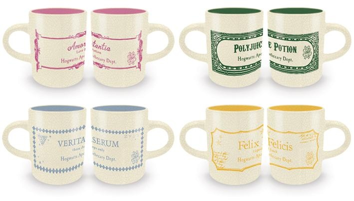 HARRY POTTER - Espresso Mug Set - Potions Collection