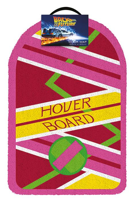 BACK TO THE FUTURE - Hoverboard - Paillasson