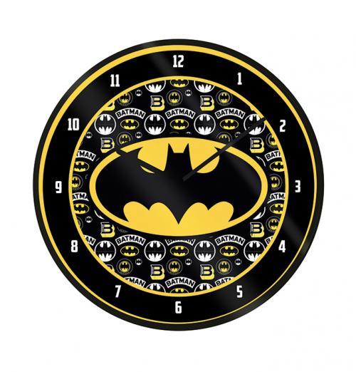 BATMAN - Logo - Horloge en plastique diamètre 25cm