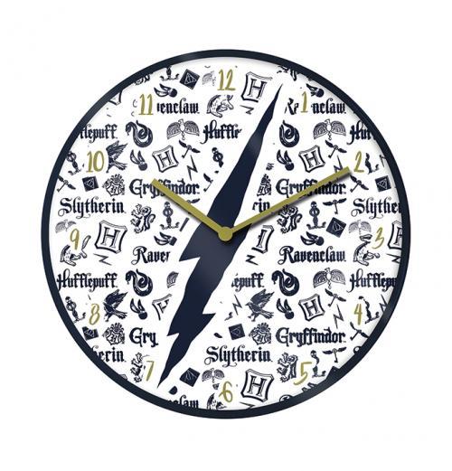 HARRY POTTER - Infographic - Horloge en plastique diamètre 25cm