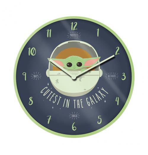 STAR WARS - Cutest in the Galaxy - Horloge en plastique diamètre 25cm