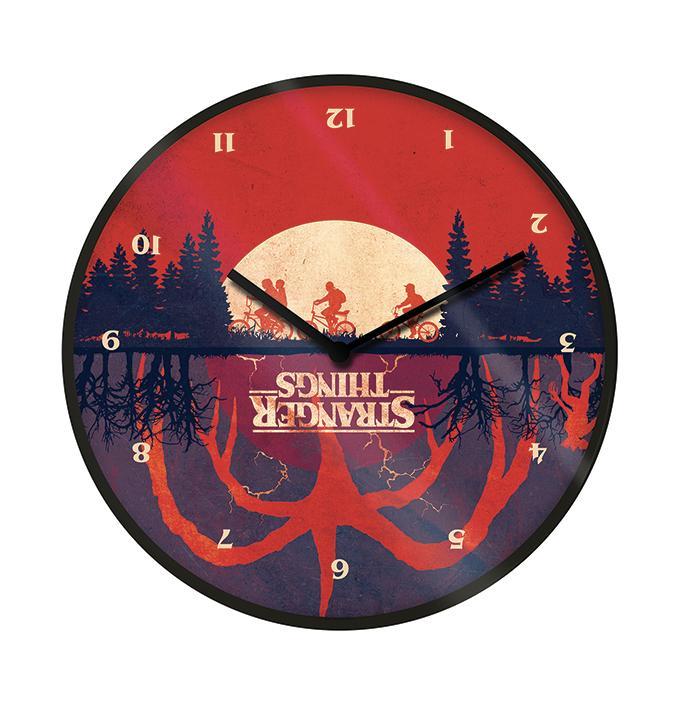 STRANGER THINGS - Upside Down - Horloge en plastique diamètre 25cm_1