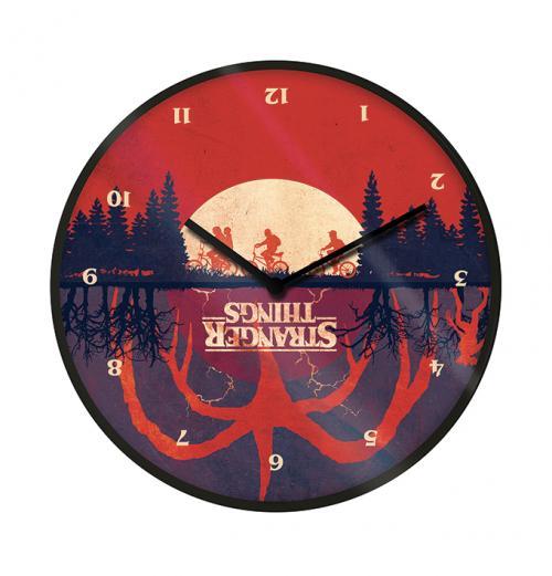 STRANGER THINGS - Upside Down - Horloge en plastique diamètre 25cm