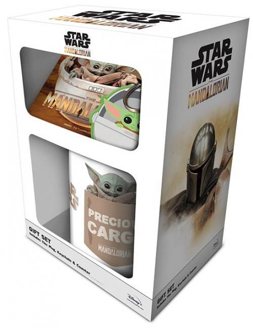 STAR WARS - The Child - Gift Set - Mug, Sous-verre & Porte-clés