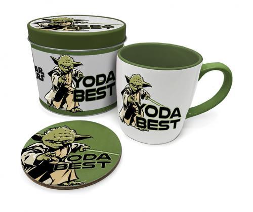 STAR WARS - Yoda Best - Box métal, mug & sous verre