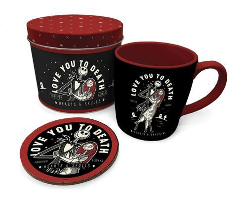 NBX - Love You to Death - Box métal, mug & sous verre
