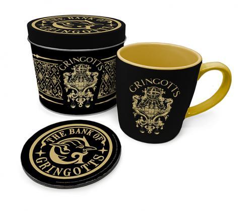 HARRY POTTER - Gringotts - Box métal, mug & sous verre