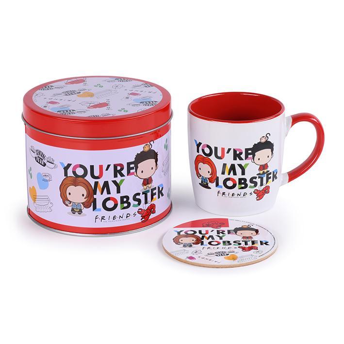 FRIENDS - You're my Lobster - Box métal, mug & sous verre_1