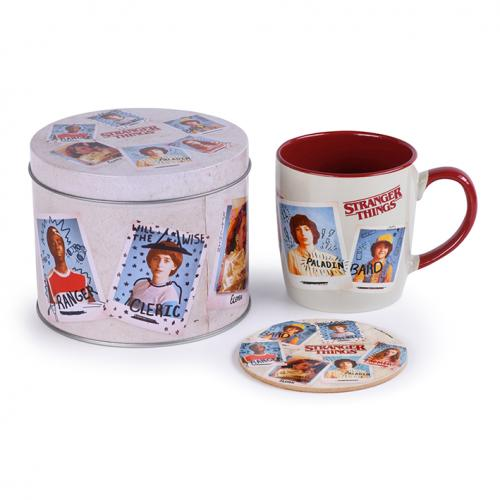 STRANGER THINGS - Photo - Box métal, mug & sous verre