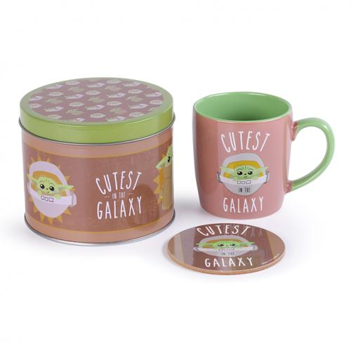 STAR WARS - Cutsest in the Galaxy - Box métal, mug & sous verre