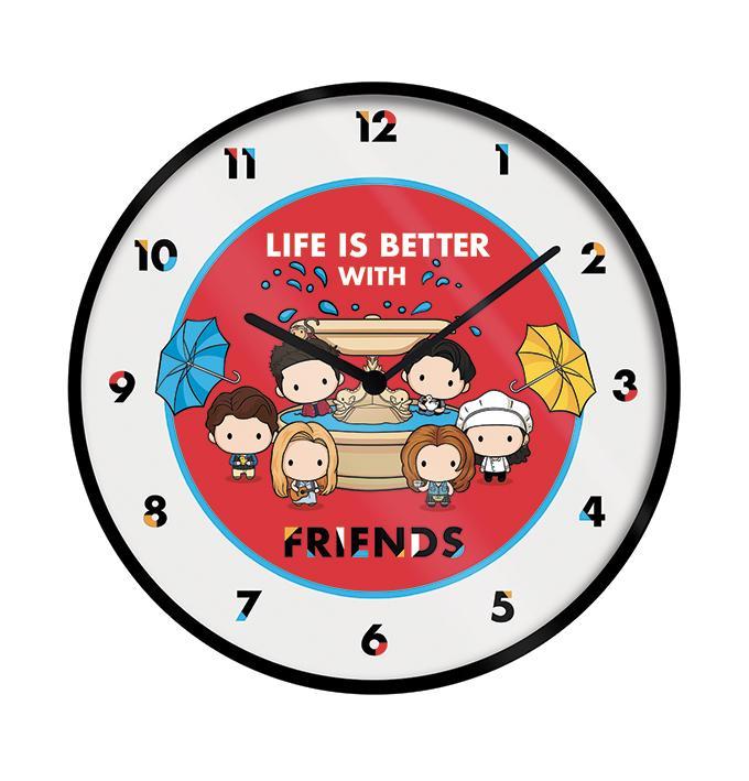 FRIENDS - Life is Better... - Horloge en plastique diamètre 25cm_1