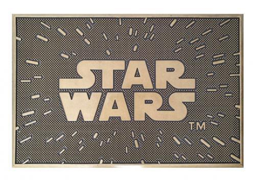 STAR WARS - Logo - Paillasson caoutchouc '40x60cm'