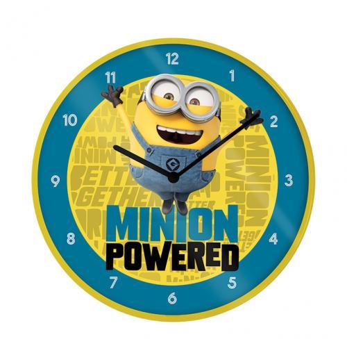 MINIONS - The Rise of Gru - Horloge en plastique diamètre 25cm