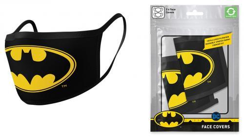 DC COMICS - Batman - Set de 2 masques visage