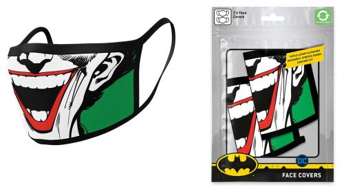 DC COMICS - Joker - Set de 2 masques visage