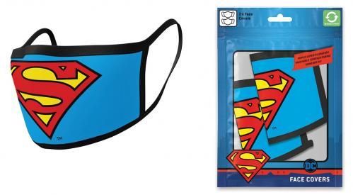 DC COMICS - Superman - Set de 2 masques visage