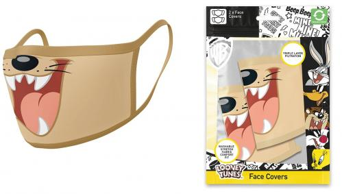 LOONEY TUNES - Taz - Set de 2 masques visage