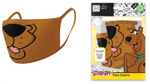 LOONEY TUNES - Scooby Doo - Set de 2 masques visage
