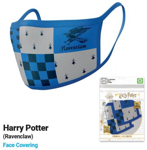 HARRY POTTER - Serdaigle - Set de 2 masques visage