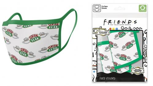 FRIENDS - Central Perk - Set de 2 masques visage
