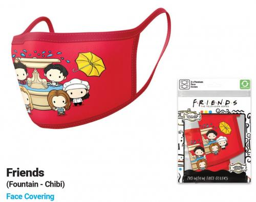 FRIENDS - Chibi - Set de 2 masques visage