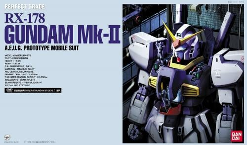 GUNDAM - Model Kit - Perfect Grade - RX-178 MK II AEUG Prototype 1/60