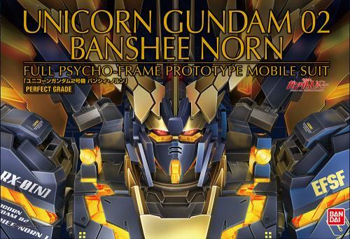 GUNDAM - Model Kit - Perfect Grade - Unicorn Banshee Norm - 1/60