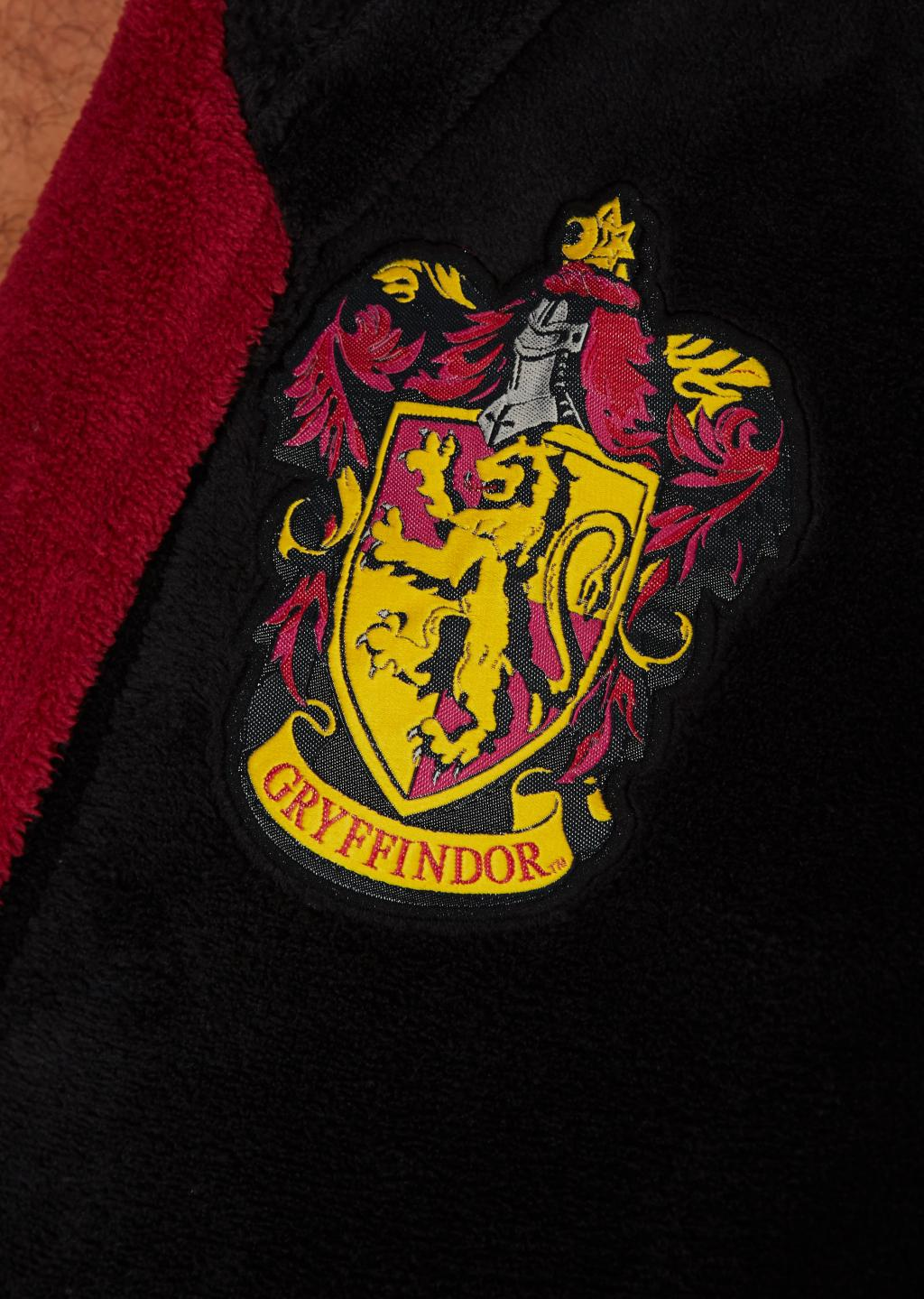 HARRY POTTER - Peignoir Homme - Gryffindor - Adulte - Taille Unique_3