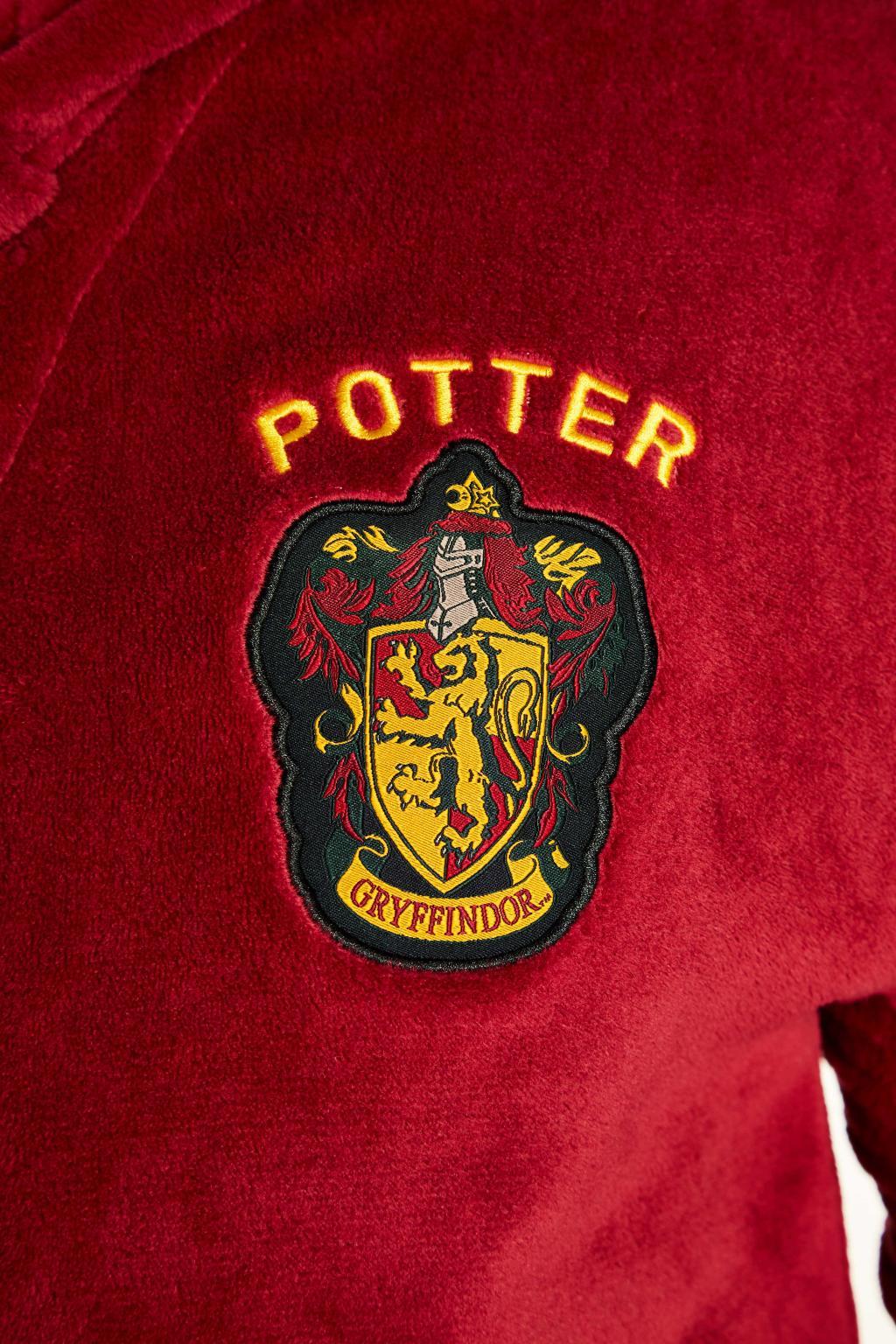 HARRY POTTER - Peignoir Homme - Quidditch - Adulte - Taille Unique_3