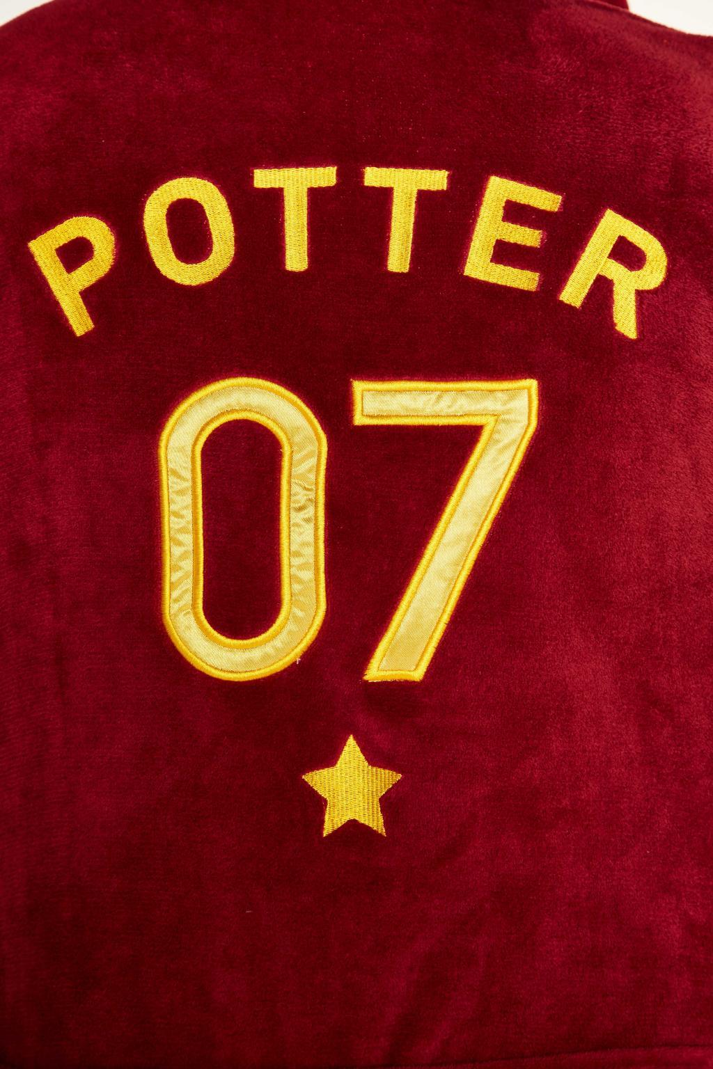 HARRY POTTER - Peignoir Homme - Quidditch - Adulte - Taille Unique_5