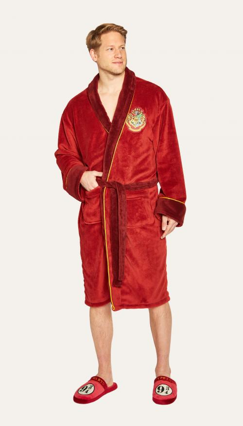 HARRY POTTER - Peignoir Homme - Platform 9 3/4- Adulte - Taille Unique