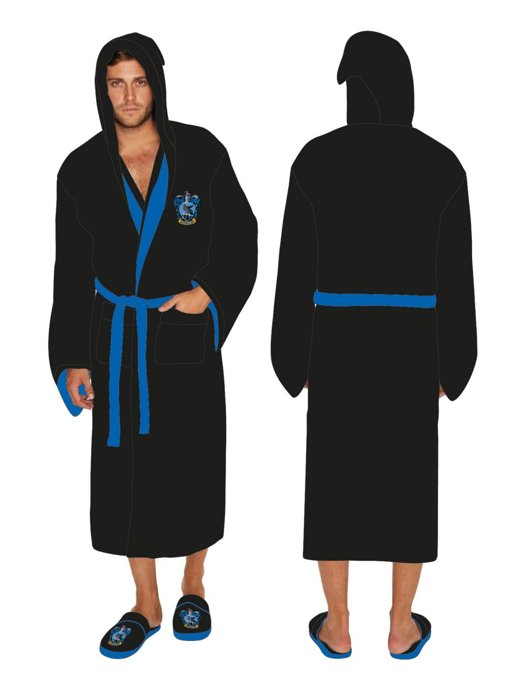 HARRY POTTER - Peignoir Homme - Ravenclaw - Adulte - Taille Unique