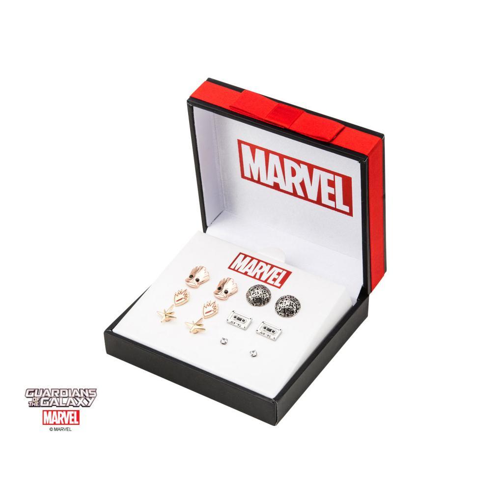 MARVEL - Guardians of the Galaxy Stud Earrings Set