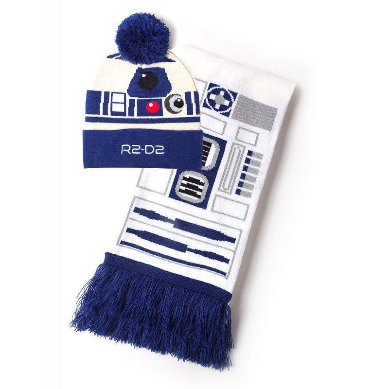 STAR WARS - R2-D2 - Bonnet & Echarpe