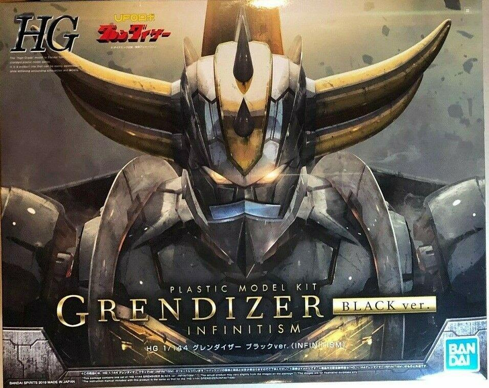 GOLDORAK - Model Kit HG 1/144 - Grendizer Infinity Black Version_1
