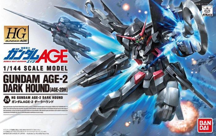 GUNDAM - Model Kit - HG 1/144 - Dark Hound Age-2 - 13CM