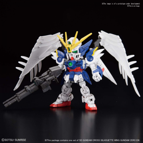 GUNDAM - SD - Cross Silouhette Wing Zero EW - Model Kit - 8cm
